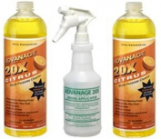 ADVANAGE 20X Multi-Purpose Cleaner Citrus 2 Pack - Manufacturer Direct - 20X is Our Newest Formula!