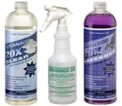 ADVANAGE 20X Multi-Purpose Cleaner Clear & Lavender 2 Pack - Manufacturer Direct - Our Newest Formula!