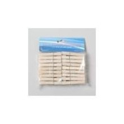 Laundry Supplies Wooden Clothespins (Pack Of 72) Pack Of 72 Pcs
