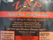 Zap Cloth - Streak Free, Spot Free