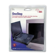 Read Right : OneStep CRT Screen Cleaning Pads, 5 x 5, Cloth, White, 100/Box -:- Sold as 2 Packs of - 100 - / - Total of 200 Each