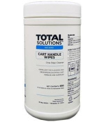 Total Solutions 1574 Cart Handle Wipes, 15cm x 15cm , 6/Case