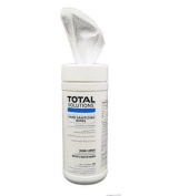 Total Solutions 1448 Hand Sanitising Wipes, 15cm x 20cm 70 Ct., 6/Cs.