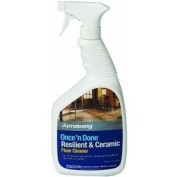 ARMSTRONG WORLD ARMSTRONG ONCE 'N DONE RESILIENT CERAMIC FLOOR CLEANER