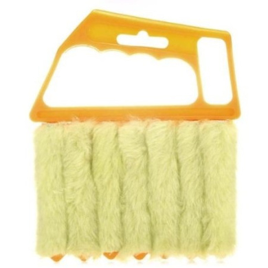Mini 7 Hand Held Vertical Brush Cleaner Blinds Air Conditioner Duster