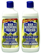 Set of 2 Bar Keepers Friend Cooktop Cleaner 380ml