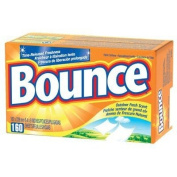 Procter & Gamble - Bounce Fabric Softener Sheets Bounce Dryer Sheets Box/160 Use Outdoor Fresh