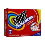 Shout Colour Catcher & Washer Sheets-24 ct.