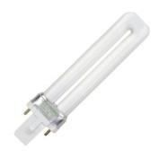 Litetronics 49550 - L-12051 7W T4 S G23 2700K 2-PIN Single Tube 2 Pin Base Compact Fluorescent Light Bulb