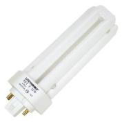 Litetronics 59780 - L-12323 32W T4 T GX24Q-3 4100K 4-PIN Triple Tube 4 Pin Base Compact Fluorescent Light Bulb