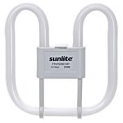 Sunlite F16/2D/835/4P 16-Watt 2D Linear Fluorescent Lamp GR10q Base, 3500K