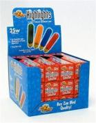 Zoo Med Laboratories AZMHLR25 25-Watt Highlights Incandescent Bulb, Red