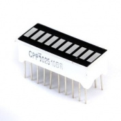 10 Segment Red LED Bar-graph Display