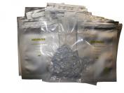 20 - 7.6cm x 13cm Aluminium Moisture Barrier Bag With Zipper Seal. Mylar!) - Includes 20 Free Silica Gel Packets!