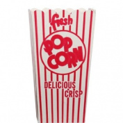 Snappy Popcorn 44E Open-Top Popcorn Box, 100/Case, 4 Pound