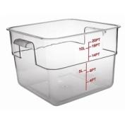 Polycarbonate Square Storage Container Capacity