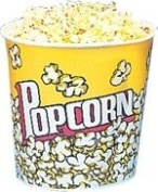170 oz. Yellow Popcorn Cup, 25 Count