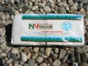 Natural Value Recycled Lunch Napkins, White, 120 Sheets
