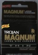 Trojan Magnum Thin 3 Pack - Condoms