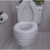 Deluxe Plastic Toilet Seat Riser - Model 81127 - Each