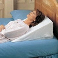 Foam Bed Wedge Pillow - 30cm Foam Wedge Bed Pillow - A13078 03 30cm