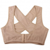 Askformore Lady Chest Support Belt Band Posture Corrector Brace Body Strap Back Shoulder Vest Shaper Size M