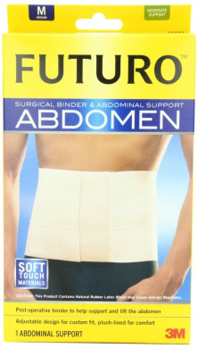 Futuro Surgical Binder and Abdominal Support, Medium