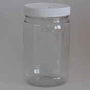 Plastic Soaking and Cleaning Jar for Ionic Detox Arrays