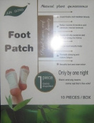 Detox Foot Pads - Detoxication Patches 10 Pack - Detoxifies The Body While You Sleep, Promotes Restful Sleep, Reduces Fatigue, Removes Toxins
