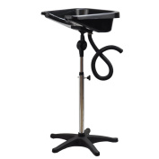 NeW Light PORTABLE & Height Adjustable Shampoo Basin Hair Bowl Salon w/ Stand