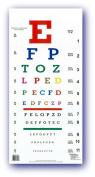 Alphabetical Colour Eye Chart