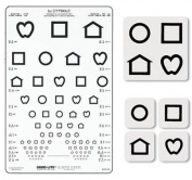 LEA Symbols Translucent Distance Eye Chart