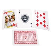 Jumbo Braille Playing Cards