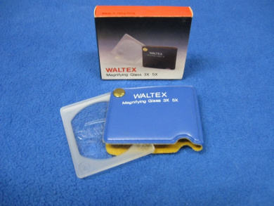 Waltex Magnifying Glass 3x 5x