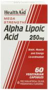 HealthAid Alpha Lipoic Acid 250mg - 60 Vegicaps