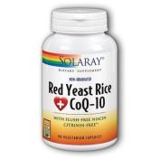 Solaray Red Yeast Rice plus CoQ-10 90 Veg Caps