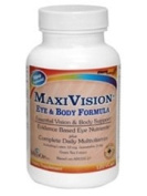 MaxiVision Eye & Body Formula, eye Multivitamin + antioxidant for AMD Macular Degeneration +Degenartive eye disease , for total body and vision support ,Based on AREDS 2 studies, 10mg Lutein and 2my Zeaxanthin