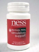 Circulatory Support (Formula 701s) 40 Capsules by Ness Enzymes