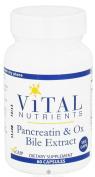 Pancreatin & Ox Bile 60c
