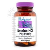 Bluebonnet - Betaine HCI Plus Pepsin - 90 Vc. 2 Pack