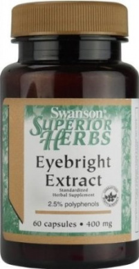 Eyebright Extract 400 mg 60 Caps