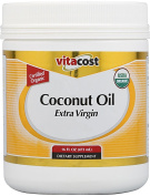 Vitacost Extra Virgin Certified Organic Coconut Oil -- 470ml