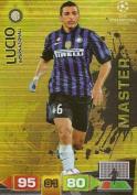 Champions League Adrenalyn XL 2011/2012 Lucio Master Inter Milan 11/12