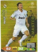 Champions League Adrenalyn XL 2011/2012 Mesut Ozil Master Real Madrid 11/12