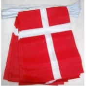 World of Flags 6m 20 flag Denmark bunting