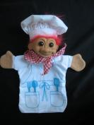 Russ troll - chef hand puppet