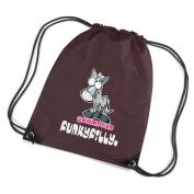 Funky Filly Pony Girls Champion Horse Rider Drawstring Bag Size 45 x 34 cms