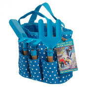 Mini Gardening Set In Blue Bag
