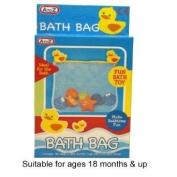 A to Z Bath Storage Net and 1 Toy Whale kids toy