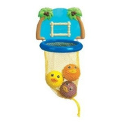 Munchkin Bath Dunkers Toy Set - Toss 3 Squirting Fish, Squirt Shoot And Score with This Fun Bath Toy